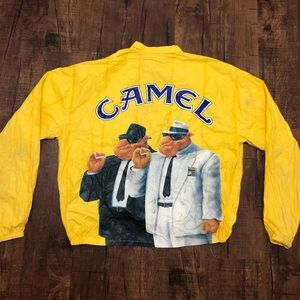 1992 Smoking Joe Camel Paper Thin Jacket